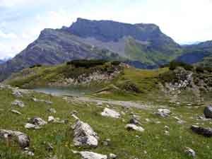 Foto: Datzi / Wander Tour / Rundtour im Gr. Walsertal auf die Rote Wand ( Biwak ) / 06.12.2008 18:39:34