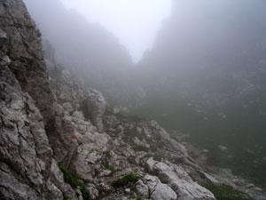 Foto: Datzi / Wander Tour / Rundtour im Gr. Walsertal auf die Rote Wand ( Biwak ) / Aufstieg über eine Scharte, 1/2 - 1Std vor dem Mutterwangjoch / 06.12.2008 18:40:17