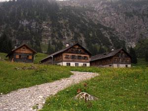 Foto: Datzi / Wander Tour / Rundtour im Gr. Walsertal auf die Rote Wand ( Biwak ) / Gadenalpe / 06.12.2008 18:40:36