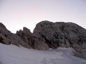 Foto: Datzi / Wander Tour / Rundtour am Steineren Meer über den Hochseiler ( Biwak ) - Brandhorn und Selphorn / Von den Teufelslöcher über das Schneefeld zum Hochseiler / 07.12.2008 18:37:56