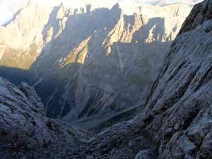Foto: Datzi / Wander Tour / Rundtour am Steineren Meer über den Hochseiler ( Biwak ) - Brandhorn und Selphorn / 07.12.2008 18:38:23