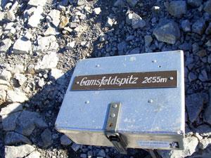 Foto: Datzi / Klettersteig Tour / Rundtour 2. Tage über die Hohe Gamsfeldspitze zur Scheichenspitze ( Biwak ) / Auf der Hohen Gamsfeldspitze 2655m / 07.12.2008 21:00:48