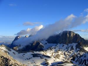 Foto: Datzi / Klettersteig Tour / Rundtour 2. Tage über die Hohe Gamsfeldspitze zur Scheichenspitze ( Biwak ) / 08.12.2008 08:30:21