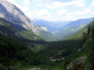 Foto: Datzi / Wander Tour / Rundtour über das Gr. Tragl ( Biwak ) und Hochkasten / Blick ins Stodertal / 08.12.2008 12:29:00