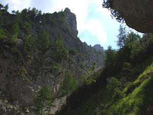 Foto: Datzi / Wander Tour / Rundtour über das Gr. Tragl ( Biwak ) und Hochkasten / Ein teilweise gesicherter Salzsteig / 08.12.2008 12:29:07