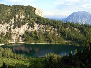 Foto: Datzi / Wander Tour / Rundtour über das Gr. Tragl ( Biwak ) und Hochkasten / Steirersee / 08.12.2008 12:29:33