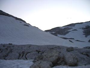Foto: Datzi / Wander Tour / Rundtour über das Gr. Tragl ( Biwak ) und Hochkasten / Schwaigbrunn mit Blick zum Anstieg vom Gr. Tragl / 08.12.2008 12:30:07
