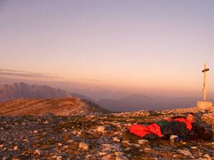 Foto: Datzi / Wander Tour / Rundtour über das Gr. Tragl ( Biwak ) und Hochkasten / Sonnenaufgang am Gr. Tragl / 08.12.2008 12:30:43