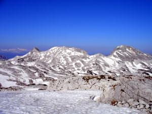 Foto: Datzi / Wander Tour / Rundtour über das Gr. Tragl ( Biwak ) und Hochkasten / Überschreitung Hochfläche mit Blick zurück zum Gr. Tragl / 08.12.2008 12:31:09