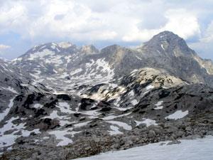 Foto: Datzi / Wander Tour / Rundtour über das Gr. Tragl ( Biwak ) und Hochkasten / Überschreitung mit Blick zur Spitzmauer / 08.12.2008 12:31:32