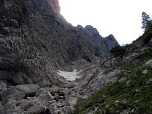 Foto: Datzi / Wander Tour / Rundtour über das Gr. Tragl ( Biwak ) und Hochkasten / Abstieg vom Bösenbühelsattel / 08.12.2008 12:31:37