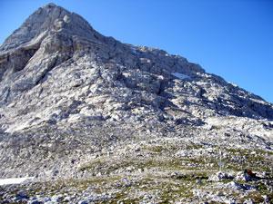 Foto: Datzi / Wander Tour / Rundtour über den Schemlberg (Biwak) zum Temelberg / Kurz vor dem Sattel vom Temlberg mit Gipfel / 08.12.2008 15:10:46