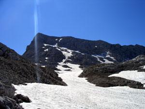 Foto: Datzi / Wander Tour / Rundtour über den Schemlberg (Biwak) zum Temelberg / Der Abstieg vom Temlbergsattel / 08.12.2008 15:10:55