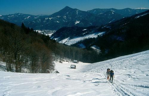 Foto: Kurt Schall / Ski Tour / Türnitzer Schwarzenberg 1096 m Von Osten über die Torstallwiese / 11.12.2008 12:24:36