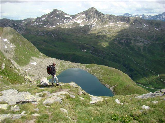 Foto: Lago Ritom / Wander Tour / Sieben Seen Wanderung / Lago di Dentro / 13.12.2008 01:48:19