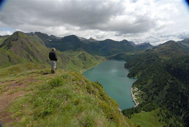 Foto: Lago Ritom / Wander Tour / Sieben Seen Wanderung / Blick auf Ritom See vom Föisc / 13.12.2008 01:39:43