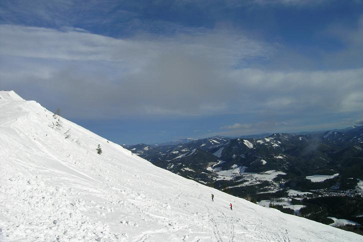 Foto: Andreas Koller / Ski Tour / Leichte Tour auf die Gemeindealpe (1626m) / 15.12.2008 01:06:33