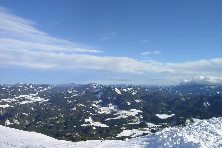 Foto: Andreas Koller / Ski Tour / Leichte Tour auf die Gemeindealpe (1626m) / 15.12.2008 01:06:15