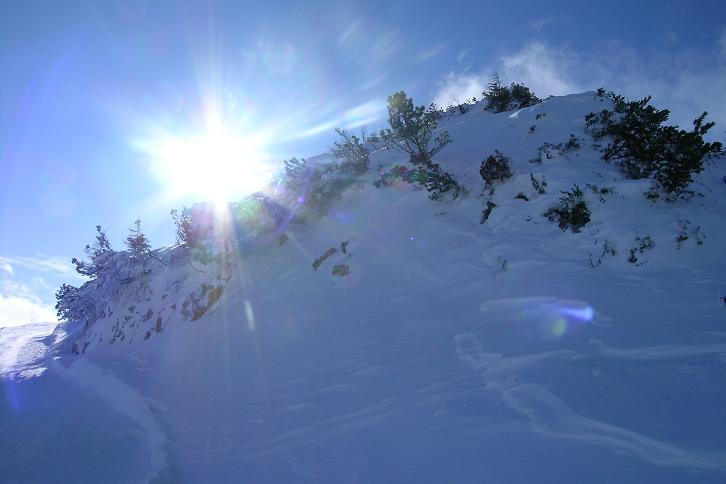 Foto: Andreas Koller / Ski Tour / Leichte Tour auf die Gemeindealpe (1626m) / 15.12.2008 01:06:05