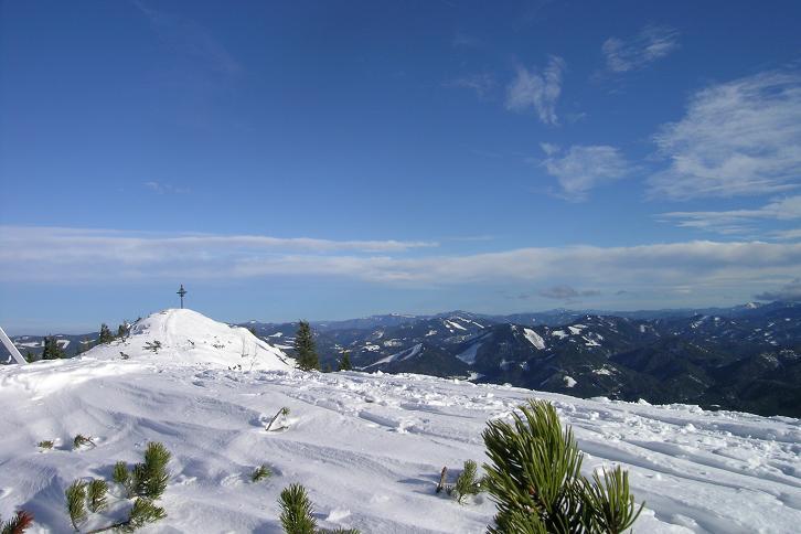 Foto: Andreas Koller / Ski Tour / Leichte Tour auf die Gemeindealpe (1626m) / 15.12.2008 01:05:34