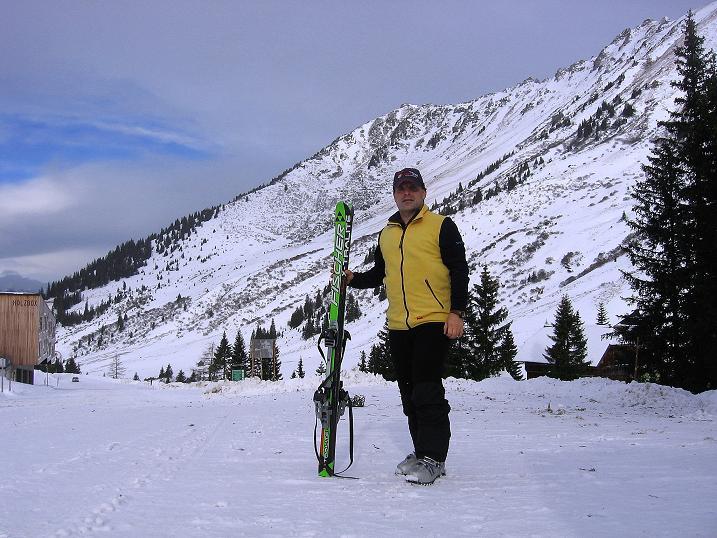 Foto: Andreas Koller / Ski Tour / Vom Plannerkessel in den Gullinggraben (2054m) / Ausgangspunkt Planneralm / 15.12.2008 01:44:08