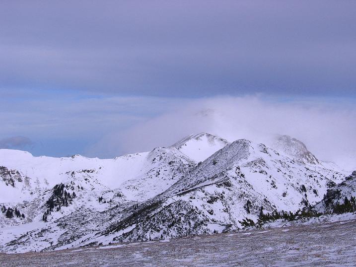 Foto: Andreas Koller / Ski Tour / Vom Plannerkessel in den Gullinggraben (2054m) / Blick Richtung Hochrettelstein (2220 m) / 15.12.2008 01:41:40