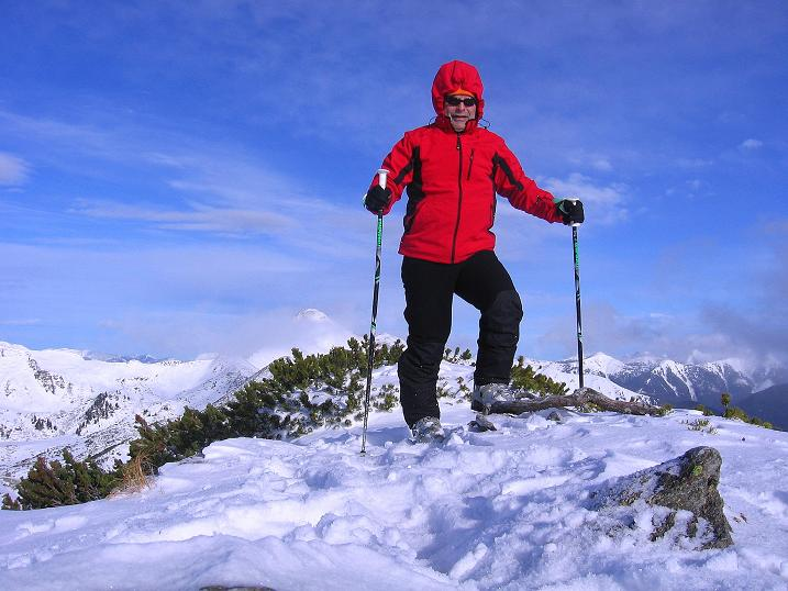 Foto: Andreas Koller / Ski Tour / Vom Plannerkessel in den Gullinggraben (2054m) / Am Großen Rotbühel / 15.12.2008 01:39:09