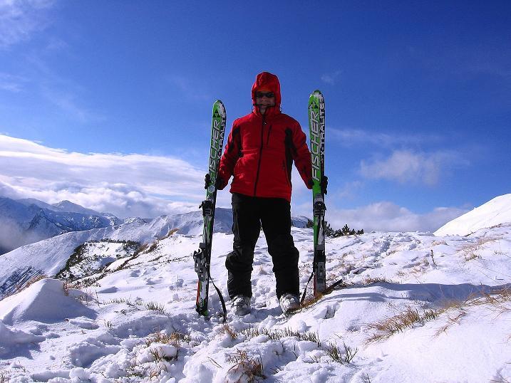 Foto: Andreas Koller / Ski Tour / Vom Plannerkessel in den Gullinggraben (2054m) / Kurz unterhalb des Rotbühel-Gipfels / 15.12.2008 01:37:16