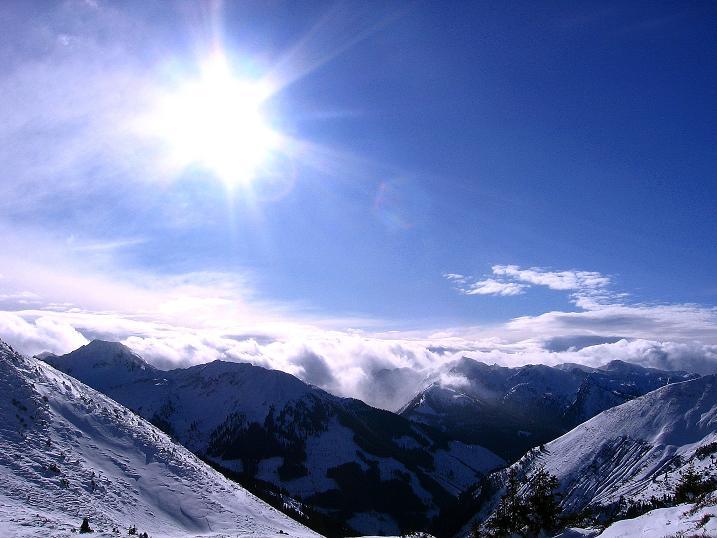 Foto: Andreas Koller / Ski Tour / Vom Plannerkessel in den Gullinggraben (2054m) / Föhnwalze im SW / 15.12.2008 01:36:21