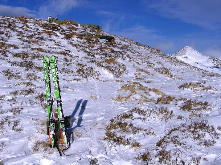Foto: Andreas Koller / Ski Tour / Vom Plannerkessel in den Gullinggraben (2054m) / Im Plientensattel / 15.12.2008 01:35:59