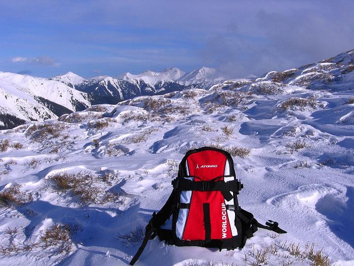 Foto: Andreas Koller / Ski Tour / Vom Plannerkessel in den Gullinggraben (2054m) / Blick vom Plientensattel Richtung SO / 15.12.2008 01:35:44