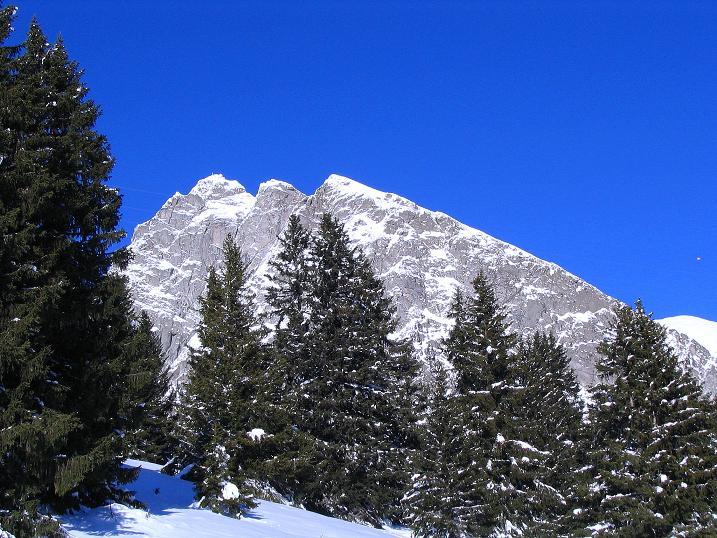 Foto: Andreas Koller / Ski Tour / Anfängertour auf den Spieler (2080m) / Der Große Iffinger (2581 m) von Piffing / 15.12.2008 02:23:03