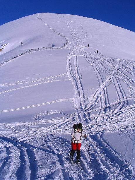 Foto: Andreas Koller / Ski Tour / Anfängertour auf den Spieler (2080m) / 24.12.2008 14:04:47