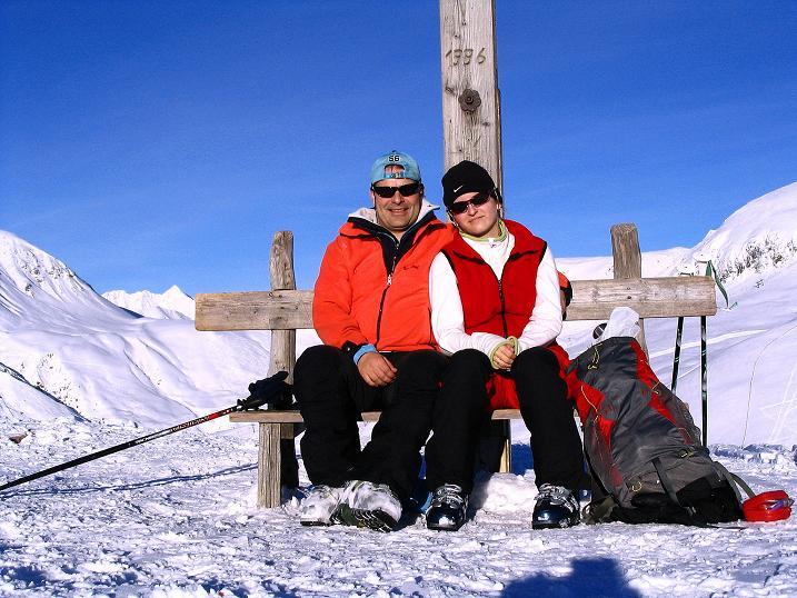 Foto: Andreas Koller / Ski Tour / Anfängertour auf den Spieler (2080m) / Spieler-Gipfel / 15.12.2008 02:14:42