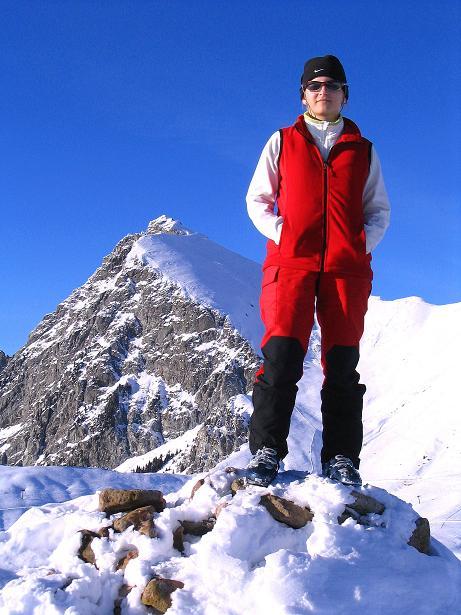 Foto: Andreas Koller / Ski Tour / Anfängertour auf den Spieler (2080m) / Am Spieler vor dem Großen Iffinger (2581 m) / 15.12.2008 02:14:26