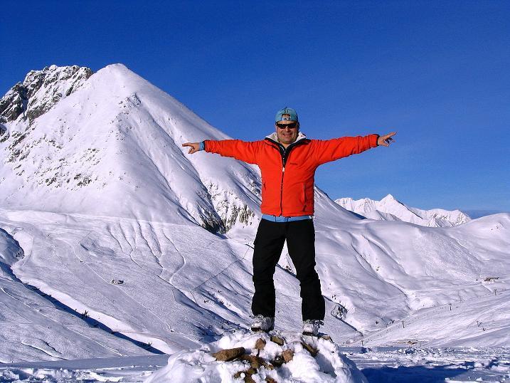 Foto: Andreas Koller / Ski Tour / Anfängertour auf den Spieler (2080m) / Am Spieler gegen Plattinger (2615 m) und Verdinser Plattenspitze (2680 m) / 15.12.2008 02:14:01