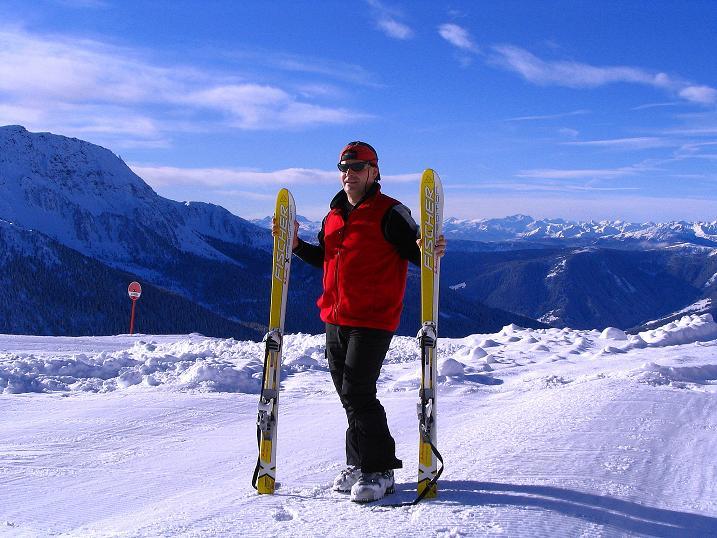 Foto: Andreas Koller / Ski Tour / Von Reinswald auf die Getrumspitze (2589m) / Ausgangspunkt Pichlberghütte / 15.12.2008 03:03:50