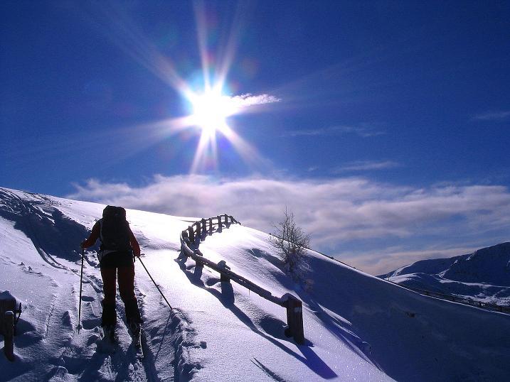 Foto: Andreas Koller / Ski Tour / Von Reinswald auf die Getrumspitze (2589m) / Aufstieg zur Sättlespitze / 15.12.2008 03:02:57
