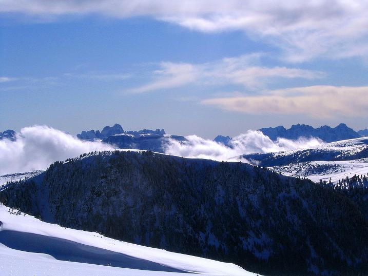 Foto: Andreas Koller / Ski Tour / Von Reinswald auf die Getrumspitze (2589m) / Der Rosengarten / 15.12.2008 03:02:41