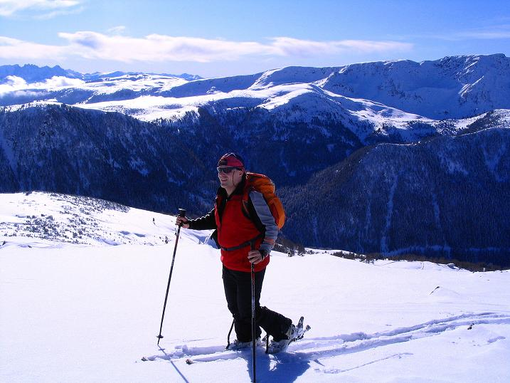 Foto: Andreas Koller / Ski Tour / Von Reinswald auf die Getrumspitze (2589m) / Der villanderer Berg (2509 m) im S / 15.12.2008 03:00:05