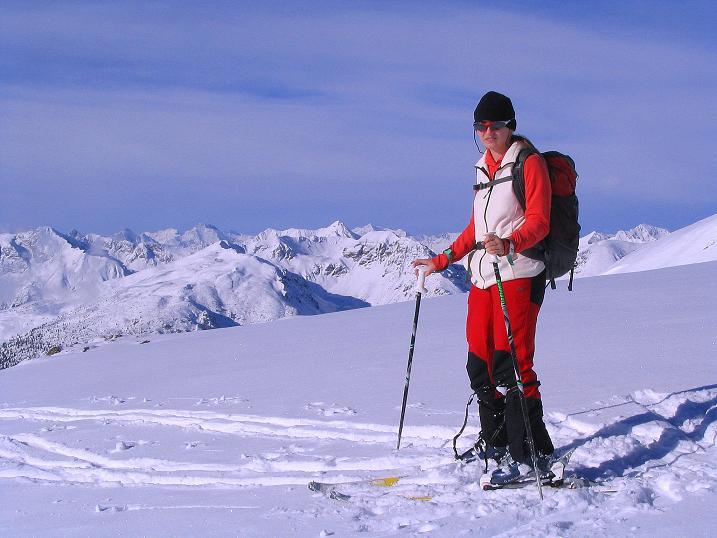 Foto: Andreas Koller / Ski Tour / Von Reinswald auf die Getrumspitze (2589m) / Die Sarntaler Alpen / 15.12.2008 02:59:26