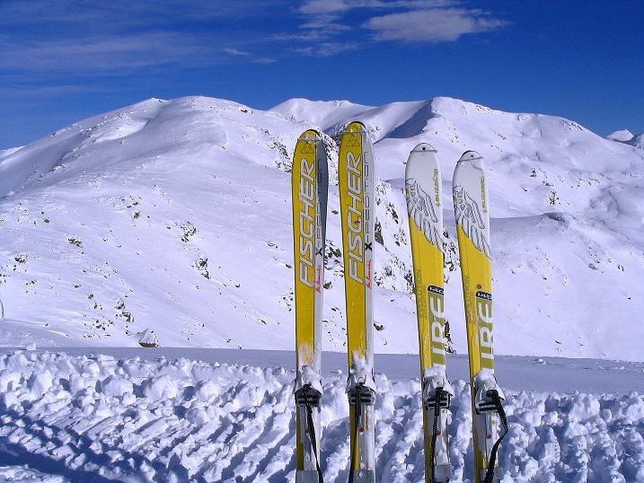 Foto: Andreas Koller / Ski Tour / Von Reinswald auf die Getrumspitze (2589m) / Der Weiterweg über den Kamm zur Getrumspitze ist vorgegeben / 15.12.2008 02:56:17
