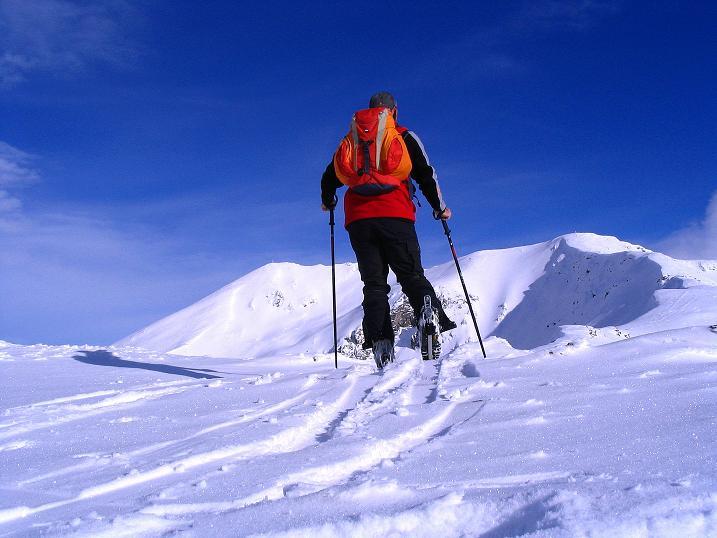 Foto: Andreas Koller / Ski Tour / Von Reinswald auf die Getrumspitze (2589m) / Am Kamm zur Getrumspitze / 15.12.2008 02:51:51
