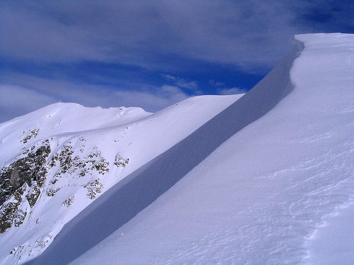 Foto: Andreas Koller / Ski Tour / Von Reinswald auf die Getrumspitze (2589m) / Entlang des Grats zur Getrumspitze / 15.12.2008 02:51:05
