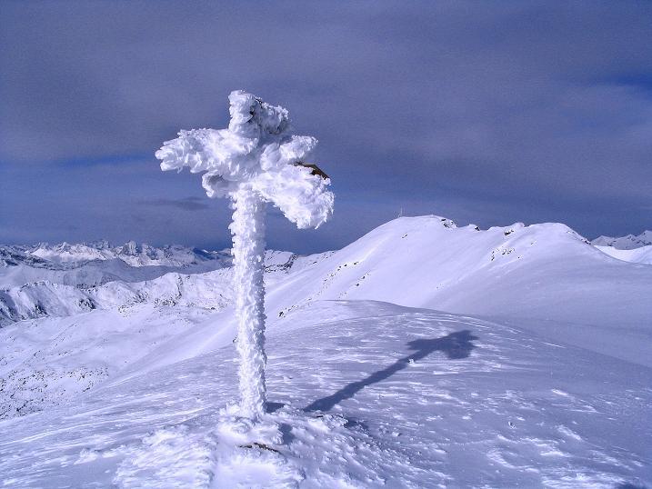 Foto: Andreas Koller / Ski Tour / Von Reinswald auf die Getrumspitze (2589m) / Blick vom Blankenhorn zur Getrumspitze / 15.12.2008 02:50:01