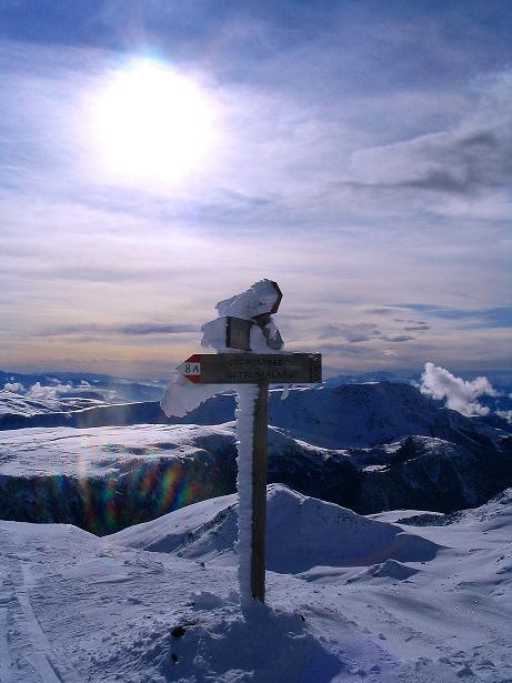 Foto: Andreas Koller / Ski Tour / Von Reinswald auf die Getrumspitze (2589m) / Am Blankenhorn / 15.12.2008 02:49:02
