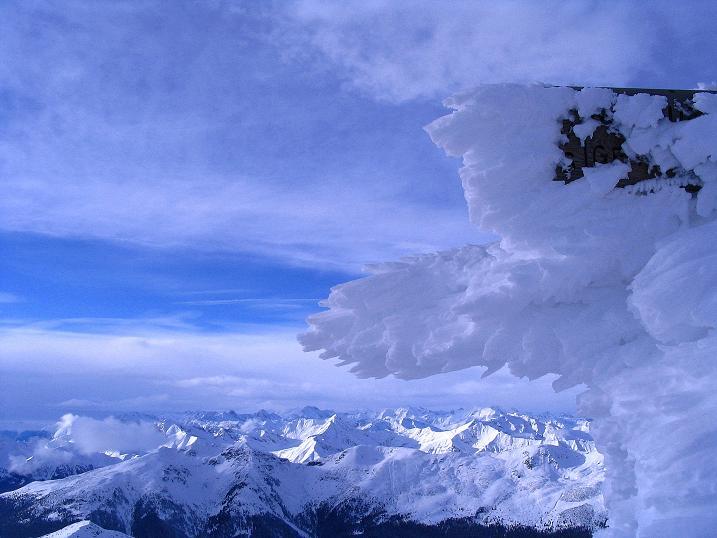 Foto: Andreas Koller / Ski Tour / Von Reinswald auf die Getrumspitze (2589m) / Blick vom Blankenhorn nach NW / 15.12.2008 02:46:00