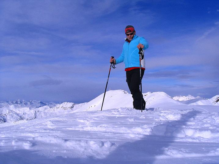 Foto: Andreas Koller / Ski Tour / Von Reinswald auf die Getrumspitze (2589m) / Am Blankenhorn / 15.12.2008 02:45:18