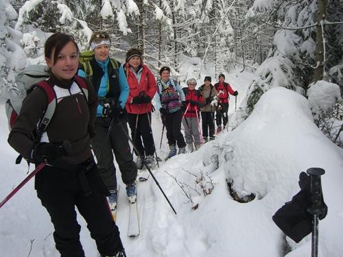 Foto: hofchri / Ski Tour / Zwölferhorn (1521m) von Tiefbrunnau über Stubneralm / 15.12.2008 20:52:36