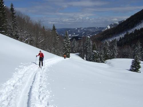 Foto: hofchri / Ski Tour / Zwölferhorn (1521m) von Tiefbrunnau über Stubneralm / 16.12.2008 19:03:16